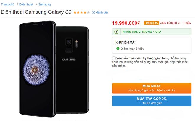 HOT: Galaxy S9, Galaxy S9+ đang giảm sốc 2 triệu đồng - 1