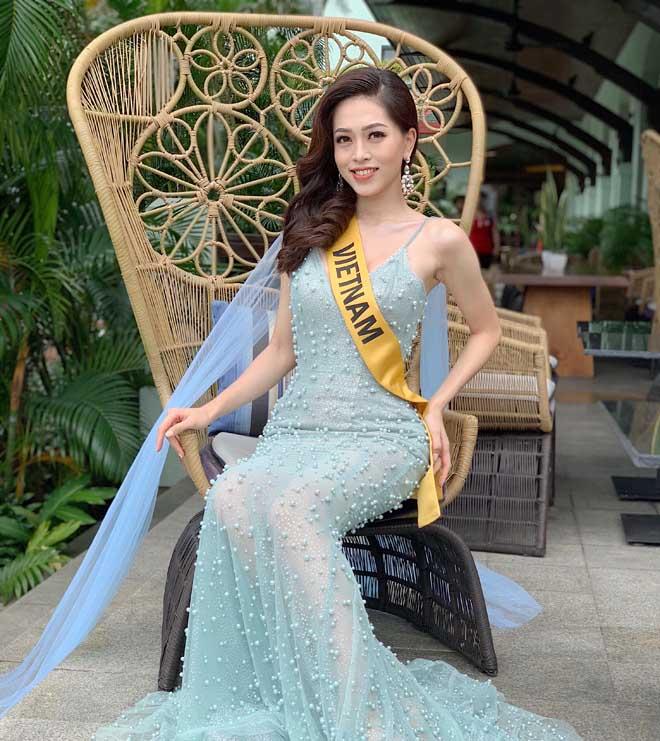 Á hậu Phương Nga tiết lộ bí quyết nổi bật ở Hoa hậu Hòa bình - 1
