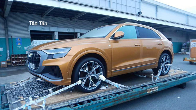 Audi Q8 bất ngờ xuất hiện tại Việt Nam, sẽ được trưng bày tại VMS 2018 - 1
