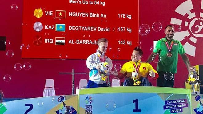Việt Nam đoạt 4 Vàng châu Á: Kình ngư Thanh Tùng phá kỷ lục Paragames - 1