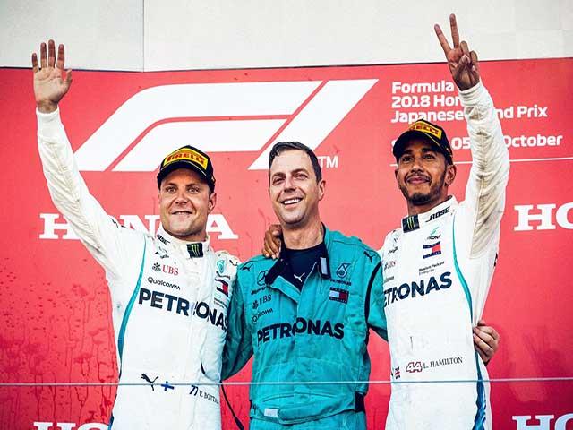 """Đua xe F1: Không có đối thủ, Hamilton """"chốt sổ"""" chức vô địch thứ 5"""