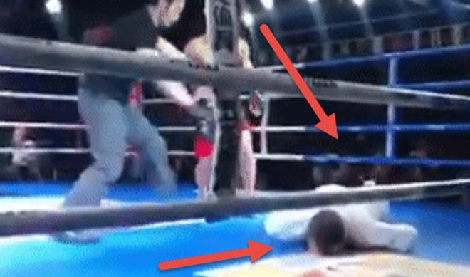 """Võ Trung Quốc cực sốc: Sau """"Lỗ Trí Thâm"""" cao thủ Võ Đang lại bị MMA hạ - 1"""