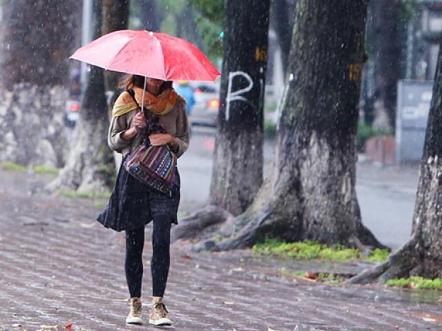 """Ảnh: Hà Nội """"đẹp lạ"""" trong ngày gió lạnh đầu mùa tràn về"""