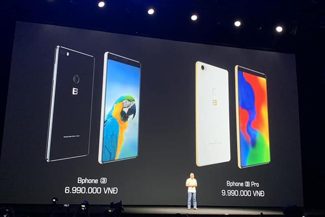 Video: CEO Bkav công bố giá bán Bphone 3 và Bphone 3 Pro - 1