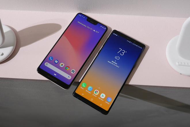 So nhanh Pixel  3 XL và Galaxy Note 9: Cuộc chiến không cân sức - 1