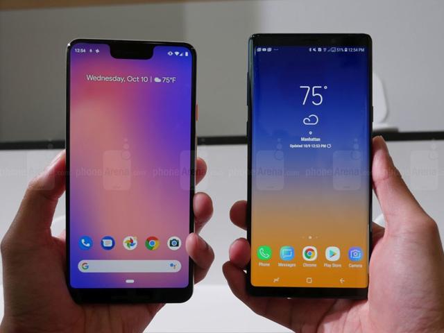 So nhanh Pixel  3 XL và Galaxy Note 9: Cuộc chiến không cân sức