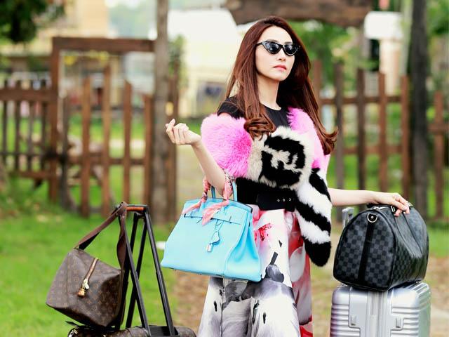 Ngân Khánh hóa thân nữ đại gia nhờ 2 tỷ trang phục hàng hiệu trên phim