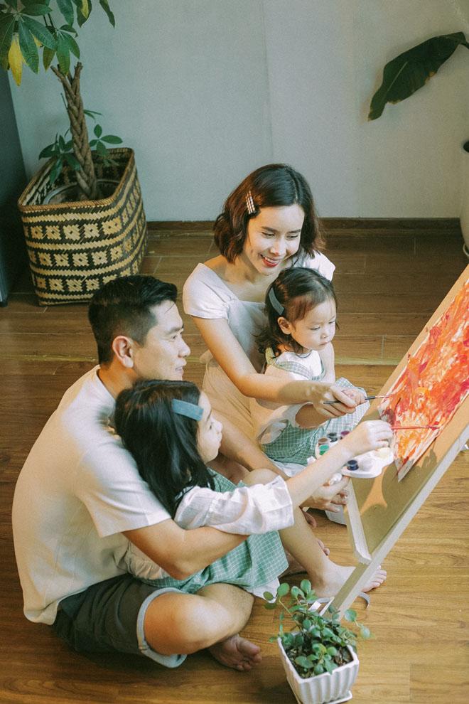 Lưu Hương Giang khoe ảnh con gái thứ hai giống hệt bố sau 2 năm giấu kín - 1