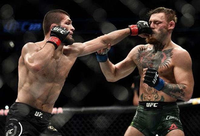 """Lo sợ bị tước đai vua UFC, Khabib dọa nạt khiến ông trùm UFC """"khóc thét"""" - 1"""