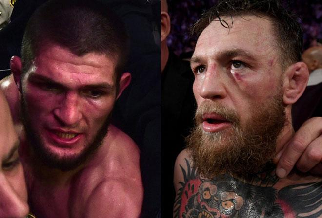 """UFC sốc: Giây phút McGregor xin hàng Khabib chốt câu """"lạnh sống lưng"""" - 1"""