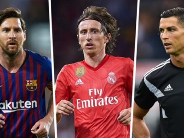 """Kỳ lạ chủ nhân """"Bóng Vàng"""": Messi là số 1, Modric – Ronaldo lo ngay ngáy"""