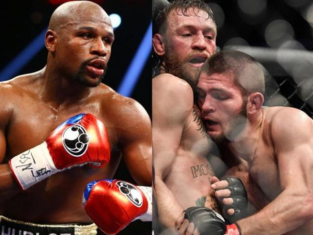 """McGregor bị sỉ vả, ăn đòn sấp mặt: Mayweather """"ra tay"""" với Khabib"""