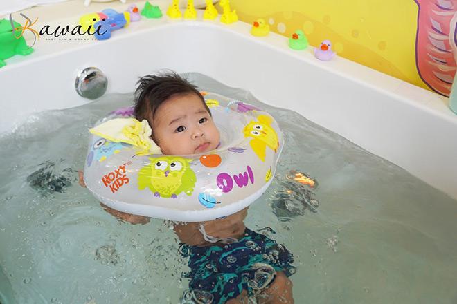 Trải nghiệm dịch vụ 'bé bơi thủy liệu' tại Kawaii Spa - 1