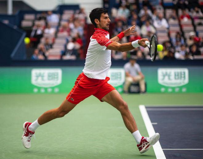 """Djokovic - Cecchinato: Ngỡ ngàng set 2 """"hủy diệt"""" (V3 Thượng Hải Masters) - 1"""