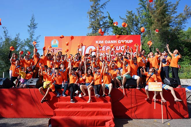 """Đội ngũ Kim Oanh Group trui rèn tinh thần """"chiến binh"""" - 1"""