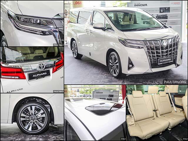 Toyota Việt Nam chính thức phân phối mẫu minivan Alphard 2018 với giá từ 4,038 tỷ đồng