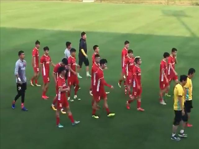 """ĐT Việt Nam tập săn vàng AFF Cup: """"Nóng"""" hơn với 8 SAO Hà Nội hội quân"""