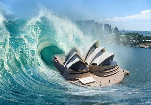 """Sóng thần """"hủy diệt"""" cao 60m có thể ập vào nước Úc - 1"""