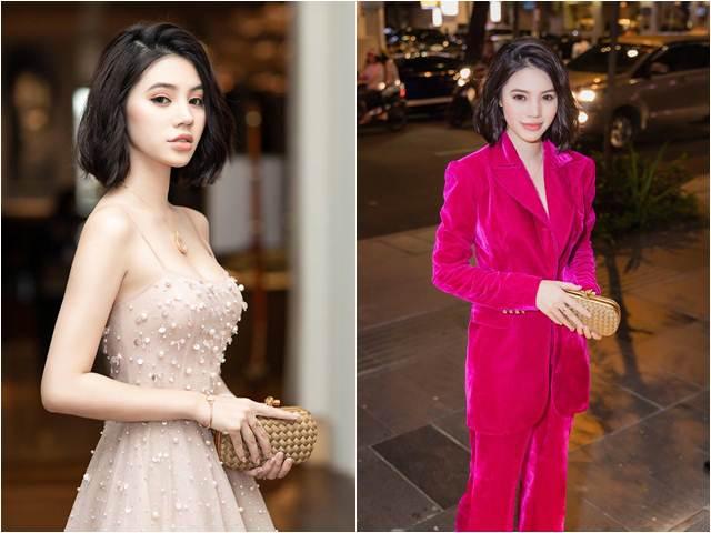 Jolie Nguyễn xinh đẹp như búp bê, biến hóa thời trang đa sắc