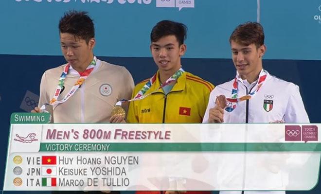 Chấn động: Huy Hoàng giật HCV Olympic trẻ, Việt Nam vượt Thái Lan - Hàn Quốc - 1