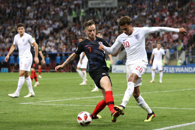 """Croatia - Anh: Bóng vàng Modric xì hơi dễ bị Kane - Sterling """"nuốt chửng"""" - 1"""