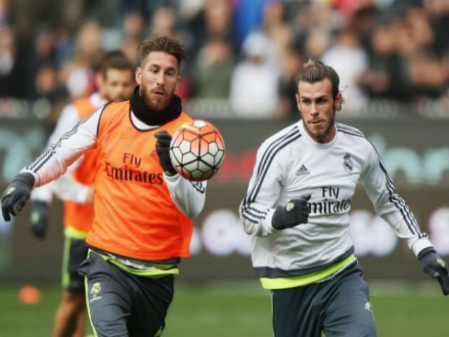 """Rung chuyển Real: """"Đại ca"""" Ramos nóng mắt đòi tống cổ Gareth Bale"""