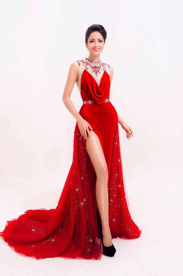 Hoa hậu người Ê Đê gia nhập đội ngũ người đẹp có vòng 3 gần 1 mét - 1