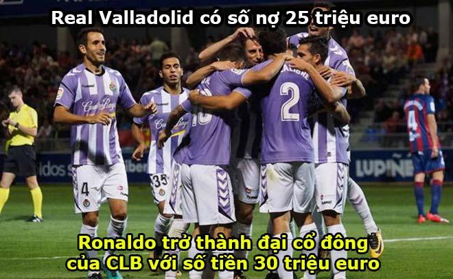 """""""Trùm"""" bóng đá Ronaldo béo: Thâu tóm Valladolid, sự lọc lõi của """"sói già"""" (P2) - 1"""