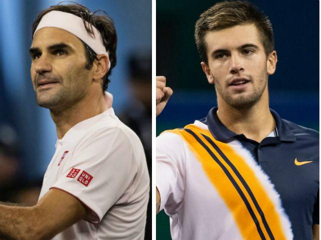 Federer - Coric: Điểm break mở màn, 2 set như một (Bán kết Thượng Hải Masters)