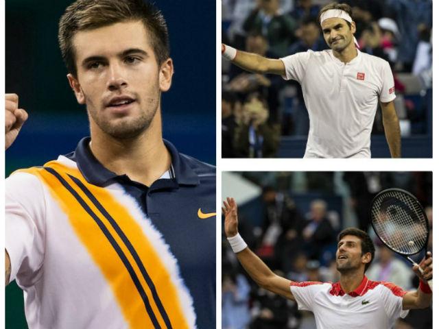 """Ngỡ ngàng """"tiểu Djokovic"""" hạ đẹp Federer, sắp sánh ngang """"bản gốc"""""""
