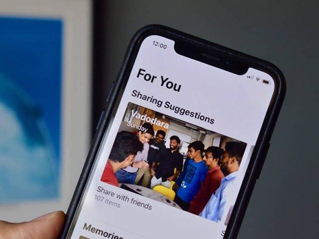 Thủ thuật iOS 12: Cách dễ nhất để chia sẻ ảnh và video trên iPhone