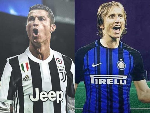 Real Madrid siêu khủng hoảng: Modric hẹn đấu Ronaldo ở Serie A