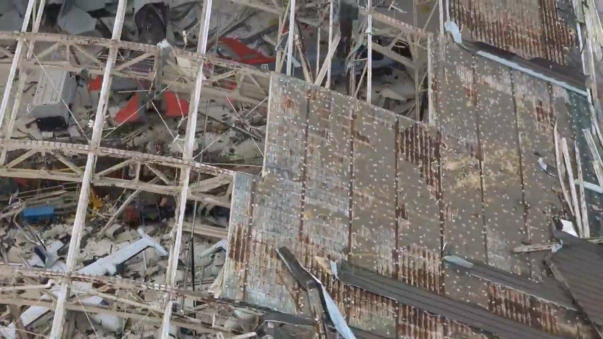 Siêu bão Michael tàn phá tiêm kích tàng hình F-22 giấu kỹ ở căn cứ Mỹ - 1