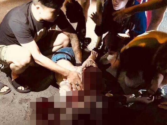 Nghi án cô gái trẻ bị người yêu cũ đâm gục trên phố Bùi Thị Xuân