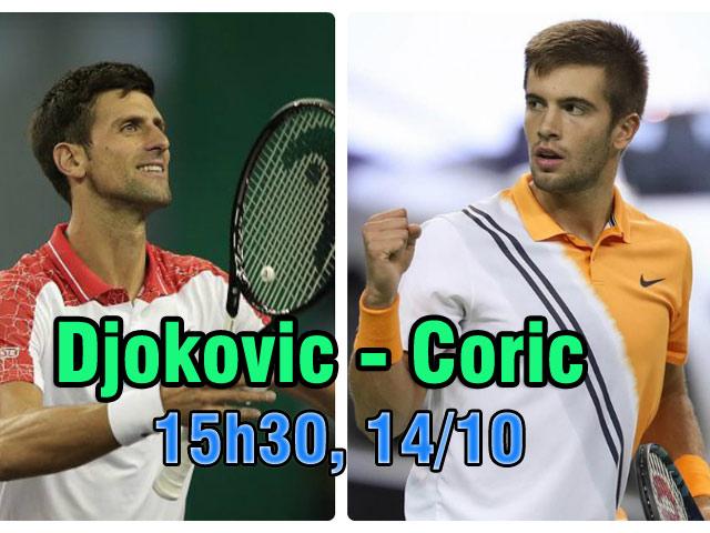 """Chung kết Thượng Hải Masters: Mơ xưng bá, Djokovic cảnh giác """"kẻ hủy diệt"""" Federer"""