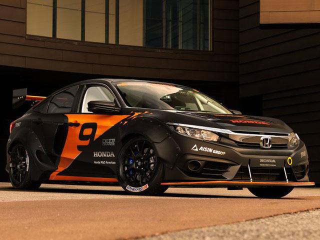 Honda Civic mạnh hơn 600 mã lực qua bàn tay của nhóm sinh viên đại học