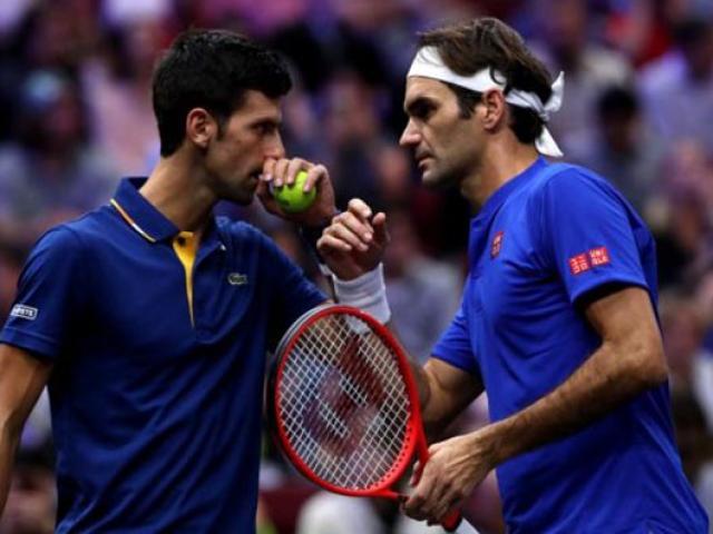 Djokovic – Federer đọ siêu phẩm: Từ kẻ làm nền tới người phán quyết