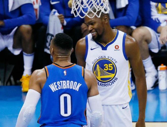 Khai hội NBA 2018/2019: Rực lửa Golden State Warriors đấu Oklahoma City Thunder - 1