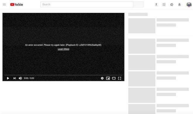 YouTube sập toàn cầu: Dân mạng VN hoang mang, YouTube lên Facebook xin lỗi - 1