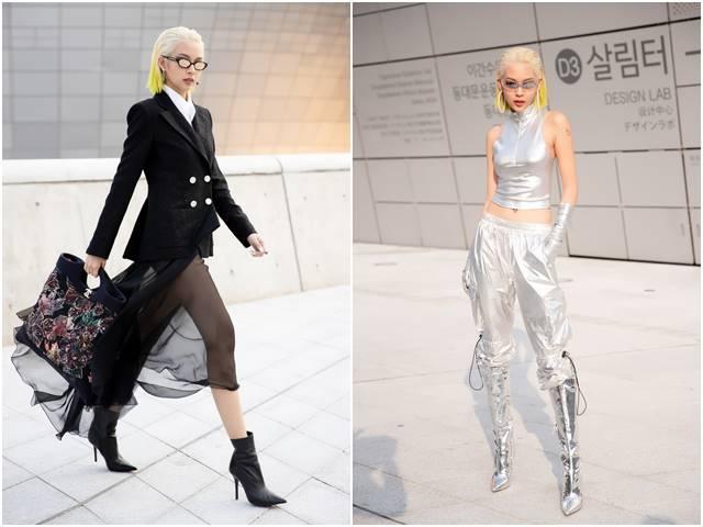 Phí Phương Anh lên Vogue nhờ streetstyle độc đáo