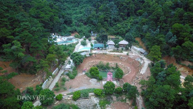"""Clip: Cận cảnh rừng phòng hộ Sóc Sơn bị """"xẻ thịt"""" từng ngày - 1"""