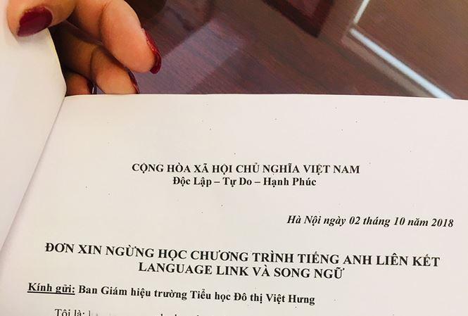 Lùm xùm 'Tiếng Anh liên kết': Liệu phụ huynh có tự nguyện? - 1