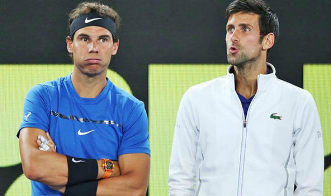 Nôn nóng soán ngôi Nadal số 1: Djokovic sẵn sàng cản bước Federer - 1