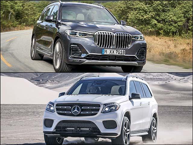 So sánh BMW X7 2019 và Mercedes-benz GLS500 4Matic: SUV cỡ lớn đối đầu