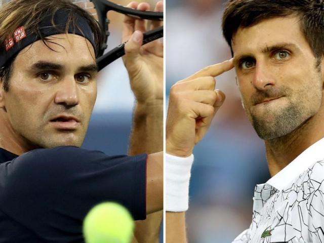 Djokovic cực đỉnh đua Nadal ngôi số 1: Federer dọa cho thua sấp mặt