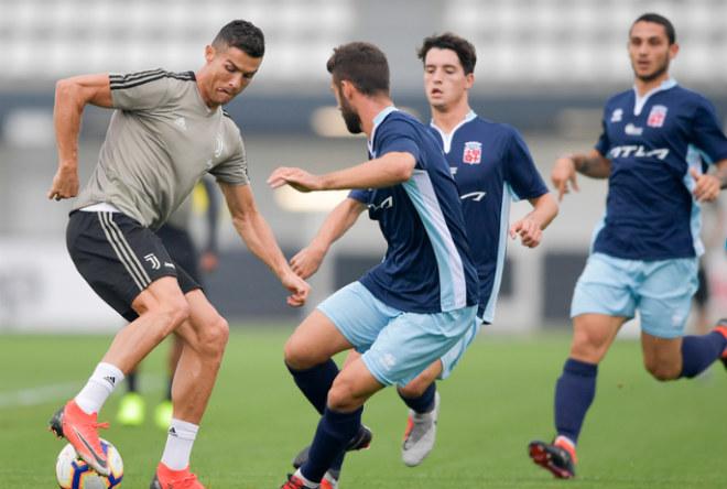 Ronaldo tỏa sáng 1 bàn, 1 kiến tạo: Tạm quên nghi án hiếp dâm, đe dọa MU - 1