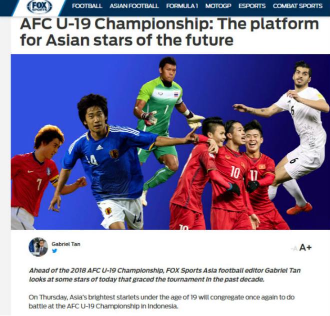 """U19 Việt Nam săn vé World Cup: Báo châu Á """"nhớ"""" Quang Hải, Công Phượng - 1"""