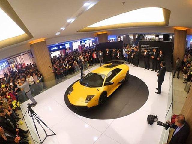 """Kỹ sư Iran chế tạo Lamborghini """"nhái"""" sử dụng động cơ Hyundai"""