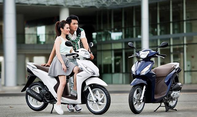 Xe tay ga Honda Vision đang được người Việt chuộng nhất - 1