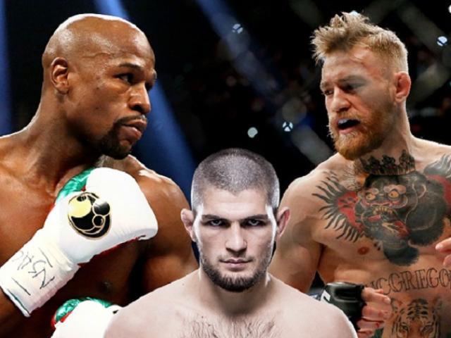 """Mayweather chẳng sợ ai chỉ cần tiền: """"Cân"""" cả Khabib lẫn McGregor"""